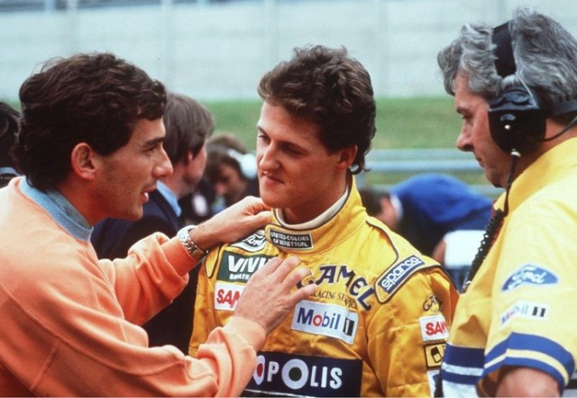 Foi há 25 anos que Schumacher começou a escrever a sua história na F1