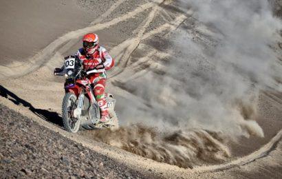 Paulo Gonçalves foi terceiro no arranque do Atacama Rally